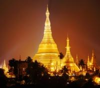Shwedagon Pagoda Illuminated