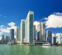 Miami Brickell Skyline