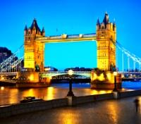 The Tower Bridge on the River Thames