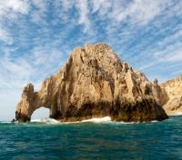 Arch in the Sea at Land's End in Cabo