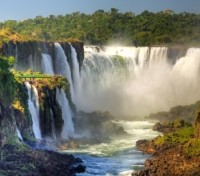"Iguazu Falls ""Devil`s Throat"""