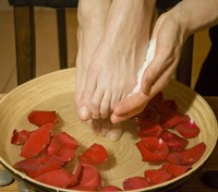 Rose Petal Lavender Foot Spa