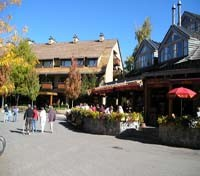 Whistler sidewalk cafes & restaurants