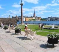 View of Stockholm from the city hall