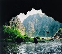 The Tam Coc Caves