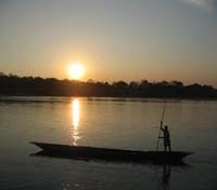 Chitwan - Sunset