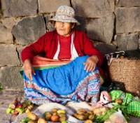 Street Vendor in Cusco