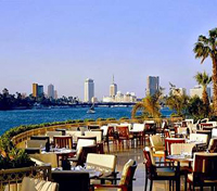 Patio at the Grand Hyatt, Cairo