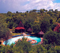 Swimming Pool at Tarangire Sopa Lodge