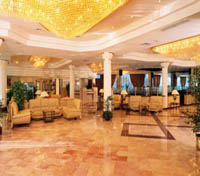 Lobby at The Movenpick Resort Cairo Pyramids