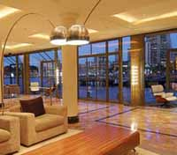The Park Hyatt Sydney lounge