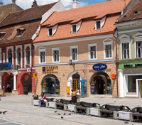 Casa Wagner in Council Square, Brasov