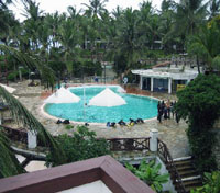 Pool at Voyager Beach Resort, Mombasa