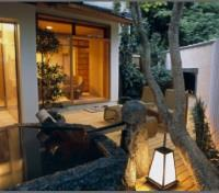 Japanese Room with Open Air Bath