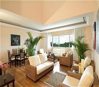 Two Bedroom Villa - living room