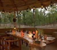 Chitvan Jungle Lodge Outdoor Dining