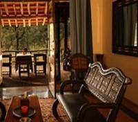 Chitvan Jungle Lodge Lounge area