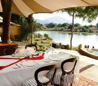Chongwe River Camp Dining