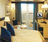 Category A4 - Stateroom with private Balcony