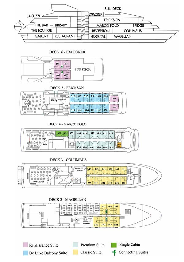 Explorer II Deck Plan