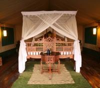 Bedroom in Tent