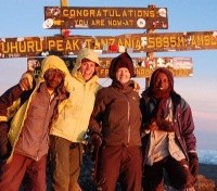 Welcome to the top of Africa