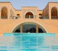 Ksar Rouge Facade with Pool
