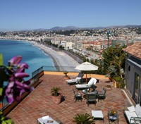 Baie des Anges terrace