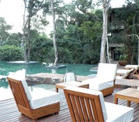 Pool and Deck at Loi Suites Iguazu Hotel