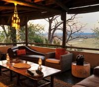 Muchenje Lounge at sunset