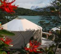 Yurt with view