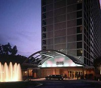 Sheraton Universal at Night