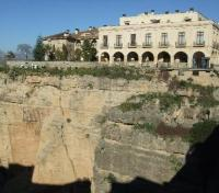 View of Parador of Ronda