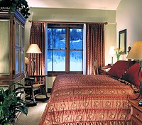 Luxury Guest Room at the Teton Mountain Lodge & Spa