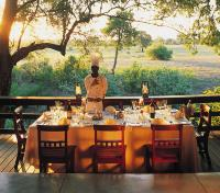 Dining at Sabi Sabi Selati Camp