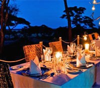 Candlelight Dining at Swala Camp