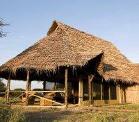 Thached Roof Tent at Kambi ya Tembo