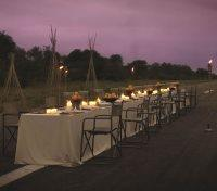 Thornybush Airstrip Dinner