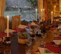 Lewa House Dining Room