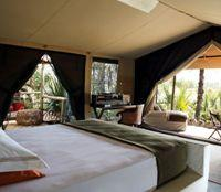 Tented suite