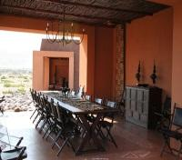 Okahirongo Elephant Lodge - Dining area