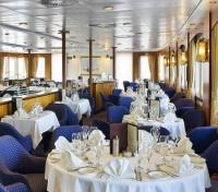 Clipper Adventurer Dining area