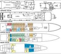 National Geographic Endeavour - Deck Plan