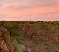 Grootberg Lodge and View