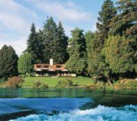 Huka Lodge Exterior