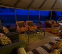 Kalahari Plains Camp - Lounge
