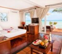Beach Front Bungalow w/ King Bed