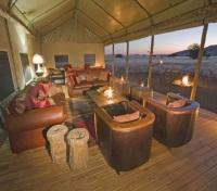 Desert Rhino Camp - Lounge Area