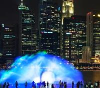 Marina Bay Sands - Light and Water Show