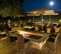 Mfuwe Lodge Outside Lounge